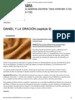 Daniel y La Oración (Capítulo 9) _ Luz en La Palabra