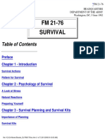 US Army - Field Manual 21-76 - Survival