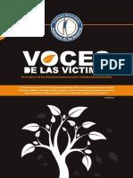 Libro Voces de Las Víctimas