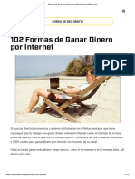 102 Formas de Ganar Dinero Por Internet _ Romualdfons