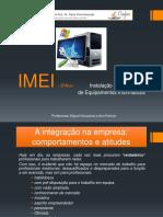 1 - Integração Na Empresa
