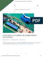 Como Fazer Um Medidor de Energia Elétrica Com Arduino - FilipeFlop