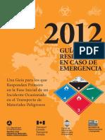 Guía de Respuesta en Caso de Emergencia