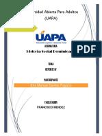 Tarea IV - Historia Social Dominicana -