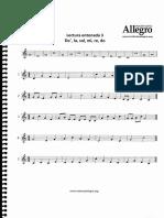 Leccion de musica primer nivel 3e
