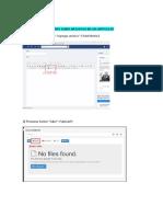 Cómo Subir Archivos en Un Artículo en Rdgd 2017