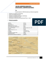 Plan de Gobierno Municipal Poroy