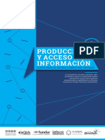 Producción y Acceso a la Información