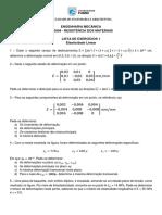 Resitencia Dos Materiais - Exercicios Elasticidade Linear