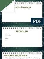 Personal Pronouns (1)