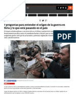 7 Preguntas Para Entender El Origen de La Guerra en Siria _ Tele 13