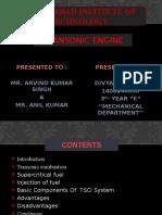 Transonic Engine 1