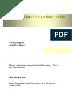 Politicas Nacionales de Información