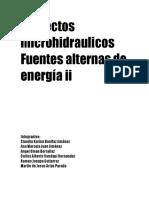 Proyectos microhidraulicos