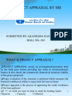 SBI project appraisal criteria by akanksha rastogi.ppt