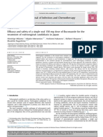 Efficacy and safety of a single oral 150 mg dose of fluconazole for the treatment of vulvovaginal candidiasis in Japan