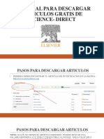 Tutorial Para Descargar Articulos Gratis de Science- Direct