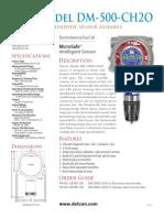 Formaldehyde DM 500 CH2O PDS