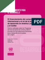 El Financiamiento Del Comercio Internacional y Rol Banca Desarrollo (CEPAL)