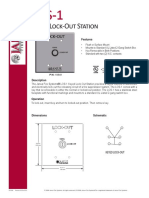 DS1068 LOS-1 Keyed Lock-Out Station Revision 10-08-15
