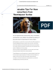 7 Invaluable Tips for New Screenwriters From 'Beetlejuice' Scribe