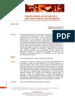 Adrián Piva. Clase y estratificación desde una perspectiva marxista