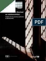 Privación de libertad de jóvenes en conflicto con la ley_web