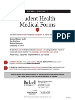 Medical Record Form