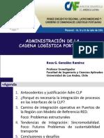Administracion Cadena Logistica Portuaria