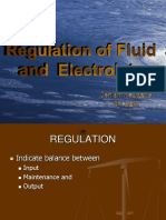 Regulation of fluid and electrolyte