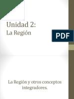 Cap 2. La Región