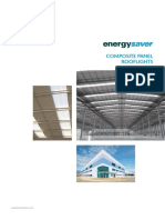 EnergySaver Factory Assembled in Plane Rooflights Brochure