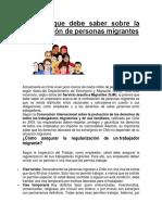 LABORAL Todo Lo Que Debe Saber Sobre La Contratación de Personas Migrantes