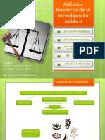 METODOS  DE INVESTIGACION JURIDICA.ppt