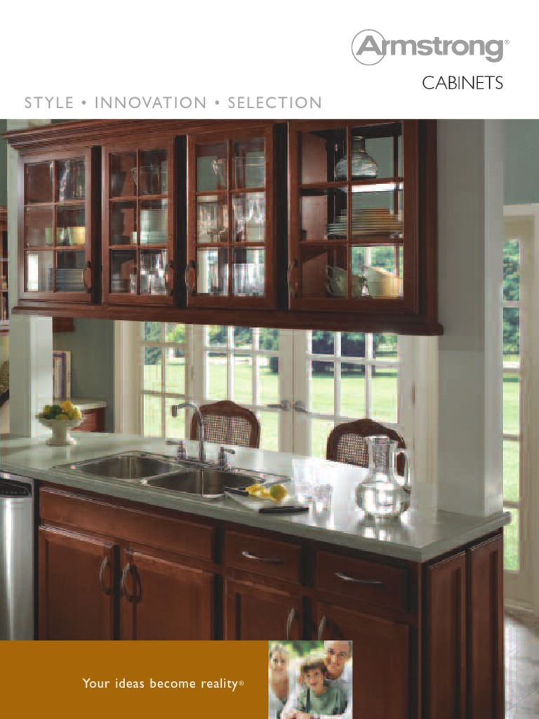 Brochure Armstrong Cabinets | Cabinetry | Plywood