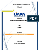 Tarea II Historial Social Dominicana-docx (1)