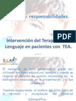 Intervención Del Terapeuta Del Lenguaje en Pacientes Con TEA-3