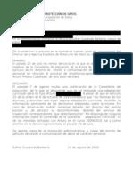 Ampliación de denuncia Agencia de Protección de datos