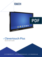 Clevertouch QSG