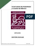 Antologia de Gestion Escolar Electronica