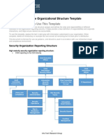 It Security Goverance Organizational Structure Template