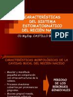 Características Morfológicas Bb Diapositivas c.d. Sally Castillo