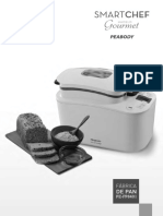 Manual Fabrica de Pan Peabody FP6401