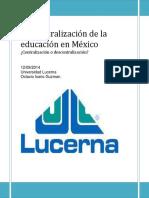 descentralizaciondelaeducacinenmxico-140912234507-phpapp02