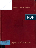 The Secret Societies of All Ages and Countries (1897) Vol.2