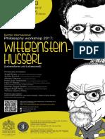 Philosophy Workshop 2017-Programa