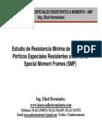 Estudios de resistencia mínimo de columnas SMF