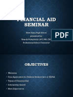 financial aid seminar ppt 9 13 18