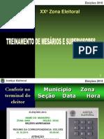 Apresentação para Treinamento de Mesários - Eleições 2016.ppt