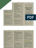 hmd 341- wendte menu